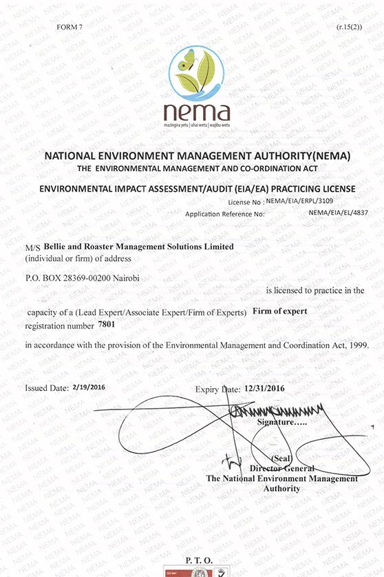 nema-license