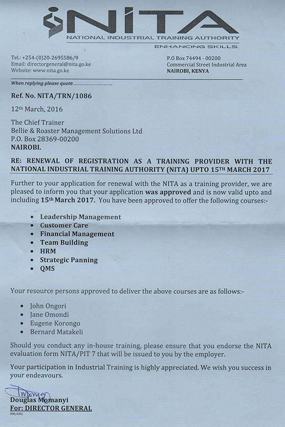 nita-certificate